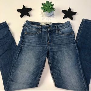 Abercrombie Mid-Rise Skinny Jeans